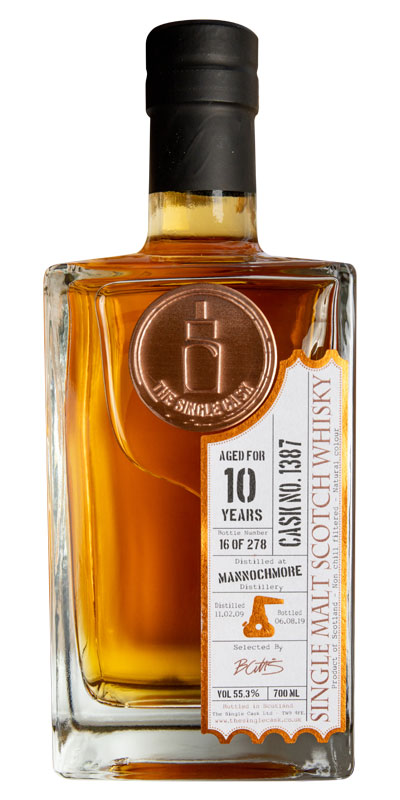 Mannochmore, 10 year, The Single Cask - Specialty Spirits