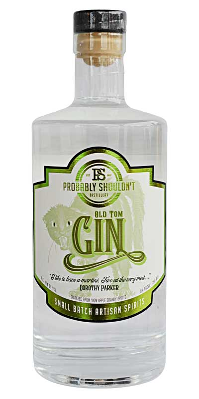 Probably Shouldn't Distillery - Old Tom Gin - Specialty Spirits