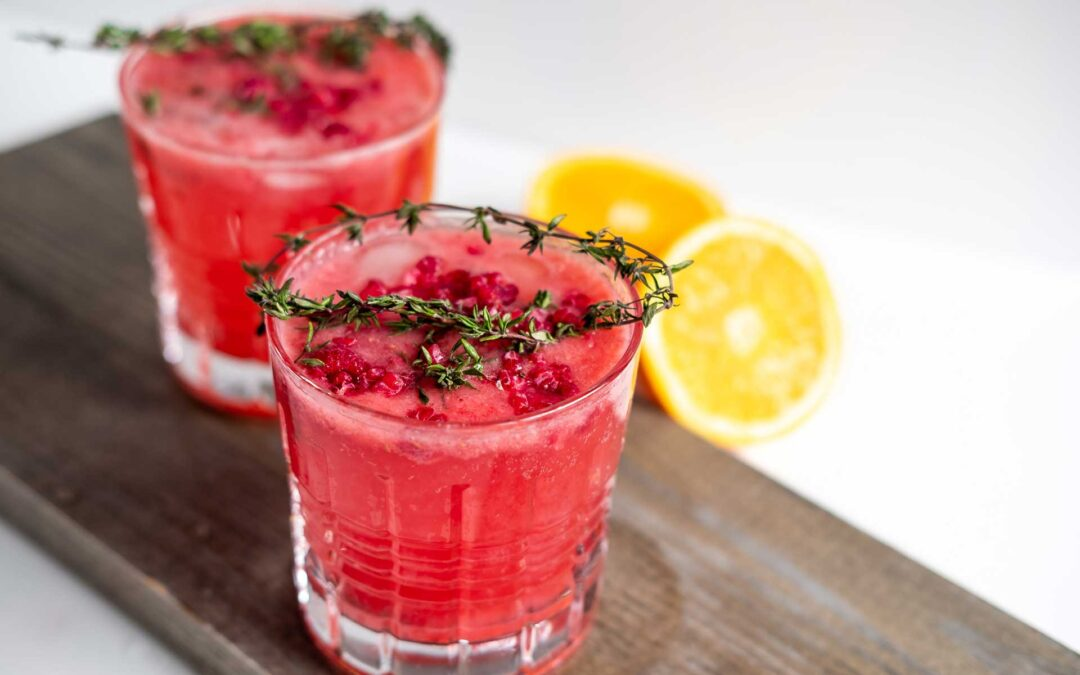 Improving Mocktails: Non-alcoholic cocktail recipes
