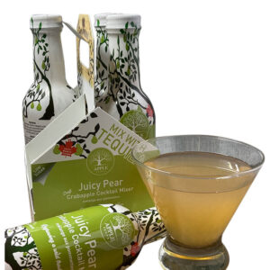 Appleflats Juicy Pear Cocktail Mixer 4-pack