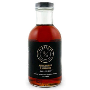 KVAS Fine Beverage Co. Northern Maple Old Fashioned Simple Syrup