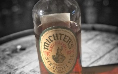 Michter's Single Barrel Straight Rye Whiskey Review.